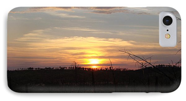 IPhone Case featuring the photograph Black Hills Sunset IIi by Cathy Anderson