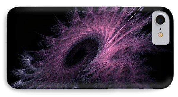 Black Hole Expanding Fractal Art IPhone Case