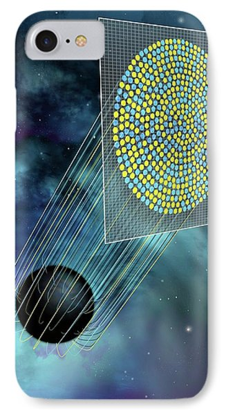 Black Hole Holography IPhone Case