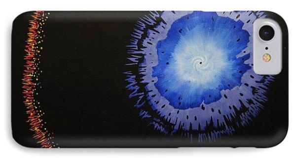 Black Hole Phone Case by Lori Ziemba