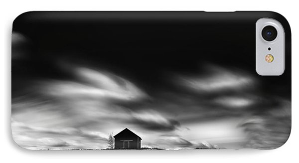 Black House IPhone Case