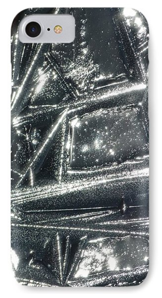 IPhone Case featuring the photograph Black Ice by Jane Ford