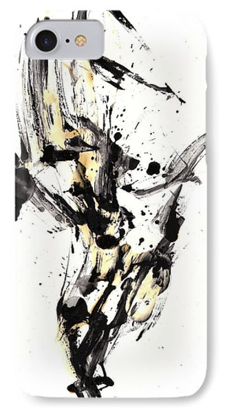 Black Is White White Is Black IPhone Case by Kris Haas