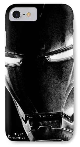 Black Led Avenger Phone Case by Kayleigh Semeniuk