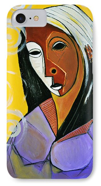 Black Madonna IPhone Case by Robert Daniels