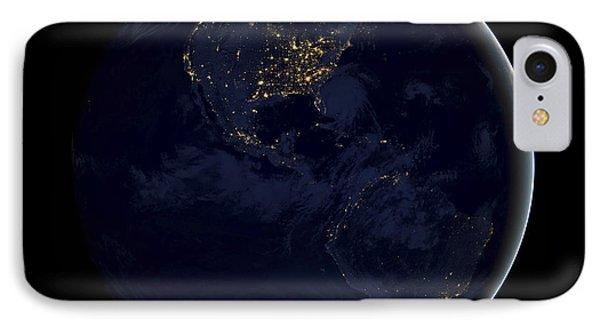 Black Marble IPhone Case by Adam Romanowicz