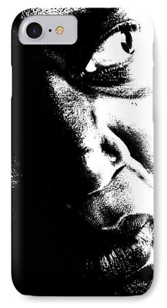 Black Miracle Portrait 12 IPhone Case