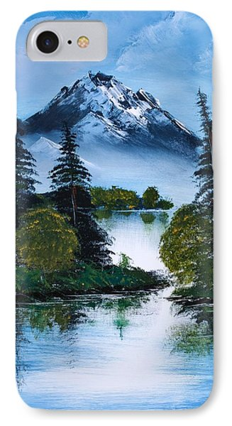 Black Mountain IPhone Case by Shannon Wells