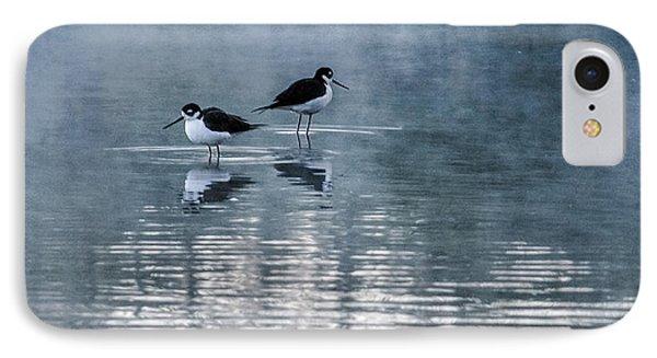 Black-necked Stilts IPhone Case by Tam Ryan