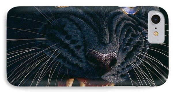 Black Panther 2 Phone Case by Jurek Zamoyski