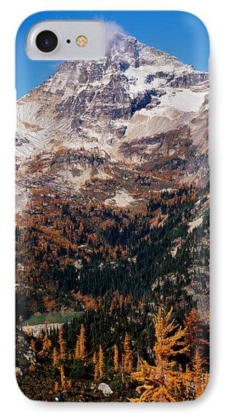 Black Peak Above Maple Pass IPhone Case