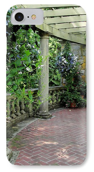 IPhone Case featuring the photograph Black Petunias by Natalie Ortiz