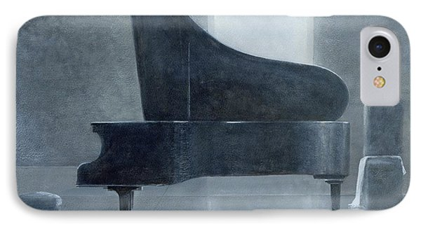 Black Piano 2004 IPhone Case