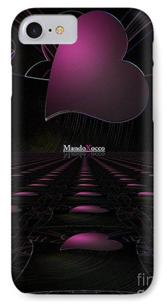 Black Pink Luv Line IPhone Case
