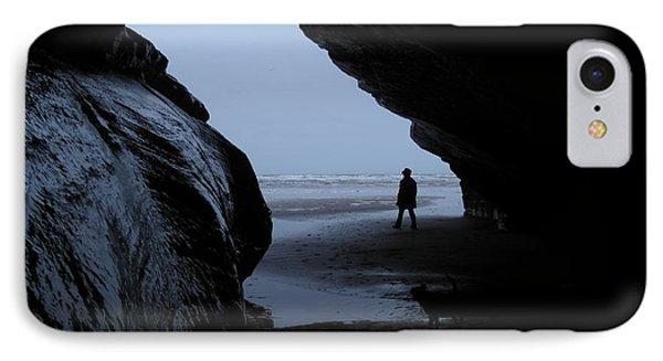 Black Rock Cave IPhone Case