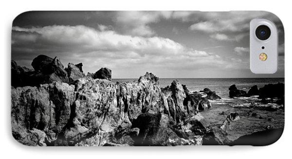 Black Rocks 3 IPhone Case