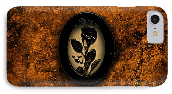 Black Rose IPhone Case by Persephone Artworks