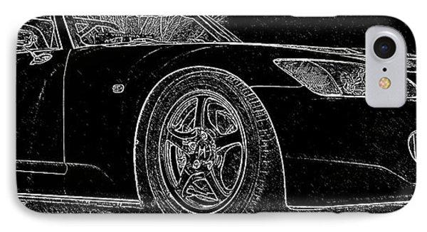 Black S2000 IPhone Case