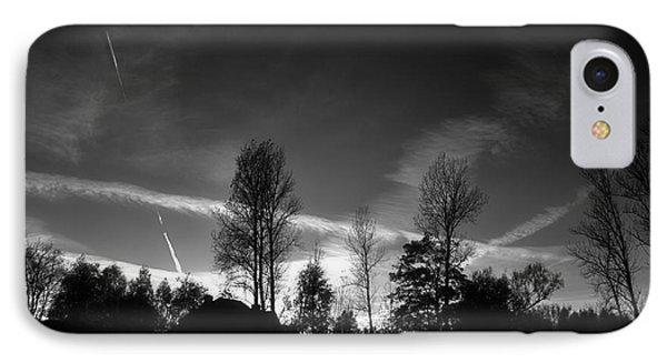 Black Sky IPhone Case by Dariusz Gudowicz