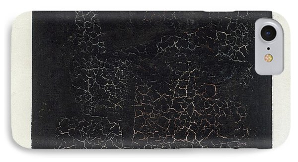 Black Square Phone Case by Kazimir Malevich