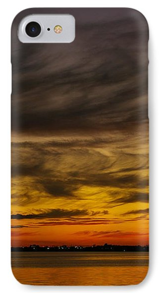 Black Sunset IPhone Case