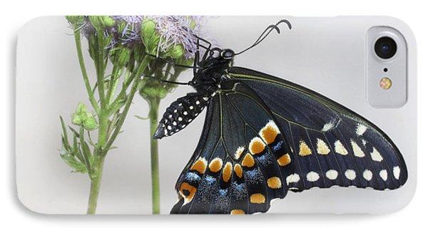 Black Swallowtail II Phone Case by David and Carol Kelly