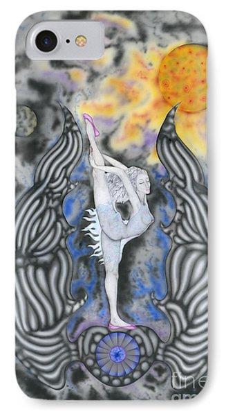Black Swan IPhone Case by Kenneth Clarke