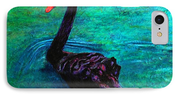 Black Swan Phone Case by Michael Durst
