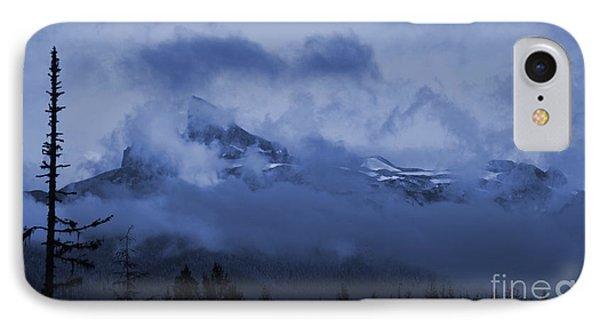 Black Tusk Mountain IPhone Case by Amanda Holmes Tzafrir