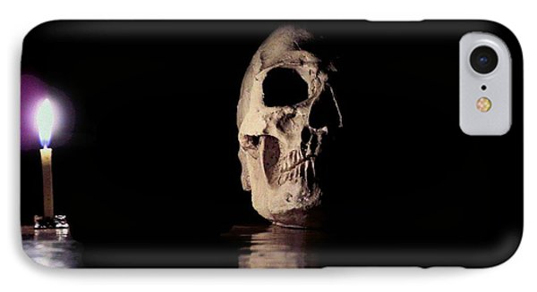 Blackbeard's Skull IPhone Case by Mark Blauhoefer