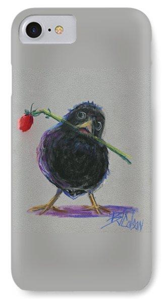 Blackbird Love IPhone Case by Billie Colson