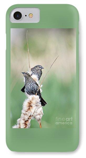 Blackbird Pair IPhone 7 Case by Mike  Dawson