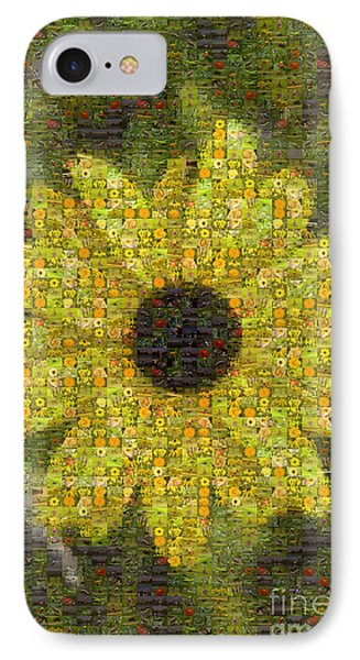 Blackeyed Suzy Mosaic Phone Case by Darleen Stry