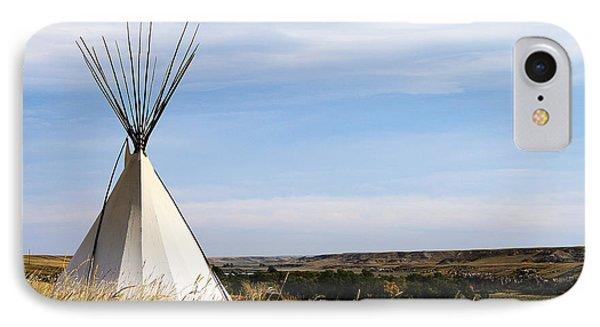 IPhone Case featuring the photograph Blackfoot Teepee by Alyce Taylor