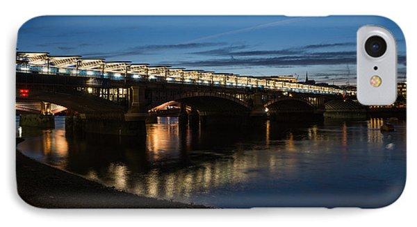 IPhone Case featuring the photograph Blackfriars Bridge - London U K by Georgia Mizuleva