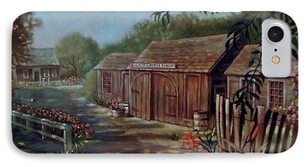 Blacksmith Shop IPhone Case