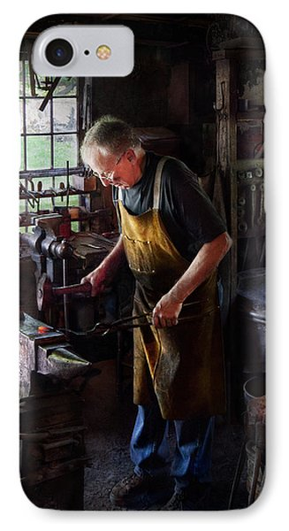 Blacksmith - Starting With A Bang  Phone Case by Mike Savad