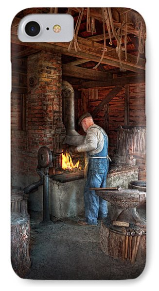 Blacksmith - The Importance Of The Blacksmith Phone Case by Mike Savad