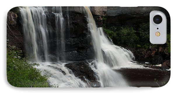Blackwater Falls - Wat 320 IPhone Case by G L Sarti