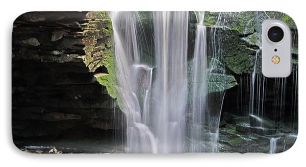 Blackwater Falls - Wat324-4 IPhone Case by G L Sarti