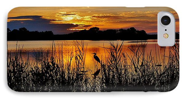 Blackwater Morning IPhone Case by Robert Geary