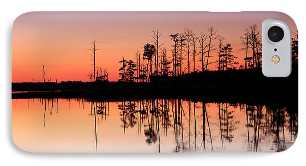 IPhone Case featuring the photograph Blackwater Reflections by Jennifer Casey