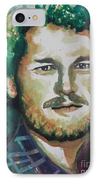 Blake Shelton  Country Singer Phone Case by Chrisann Ellis