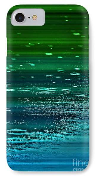 Blame It On The Rain IPhone Case by Cynthia Lagoudakis