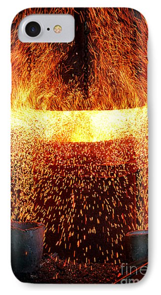 Blast IPhone Case by Olivier Le Queinec