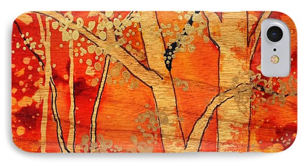 Blazing Autumn IPhone Case by Yolanda Koh