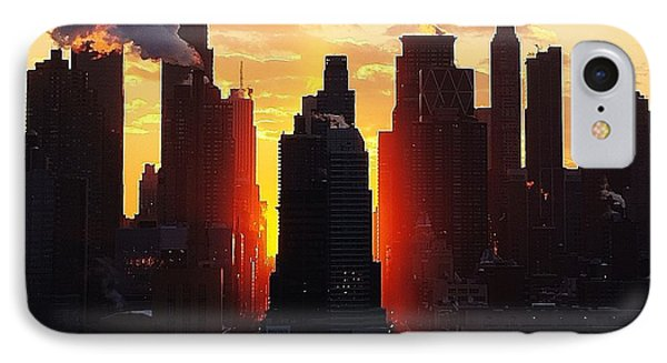 Blazing Morning Sun IPhone Case by Lilliana Mendez