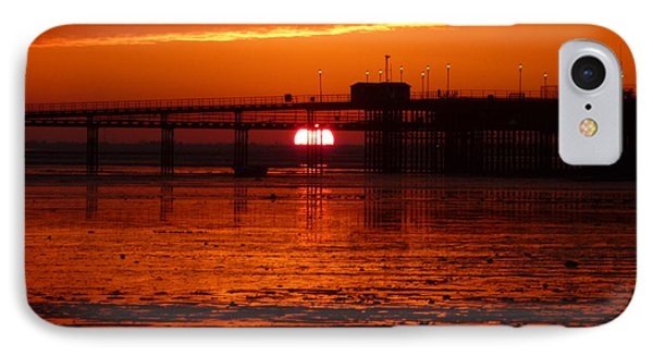 Blazing Sunset IPhone Case by Vicki Spindler