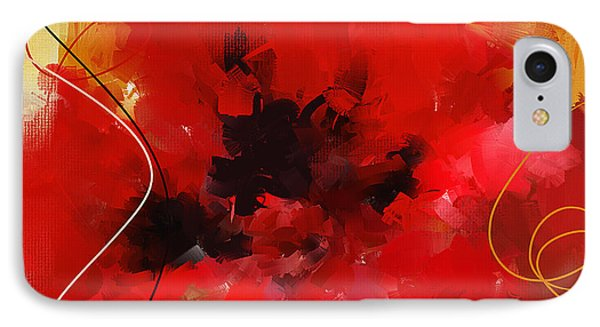 Blazingly Poppies IPhone Case by Lourry Legarde