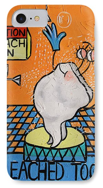 Bleached Tooth Phone Case by Anthony Falbo